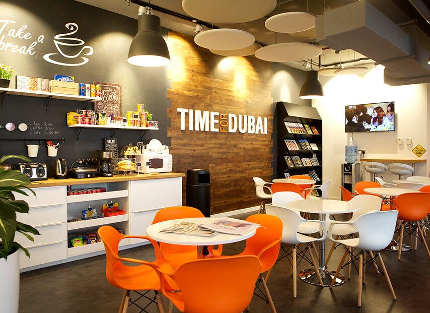 Promoção Estude e Trabalhe em Dubai. Escola ES Dubai