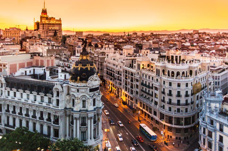 Gran-Vía-intercâmbio-em-Madri