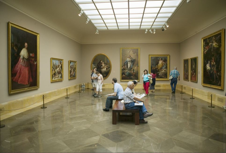 Museu-do-Prado-intercâmbio-em-Madri