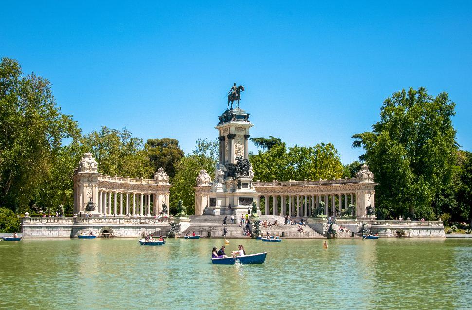 Parque-del-Buen-Retiro-Intercâmbio-em-Madri