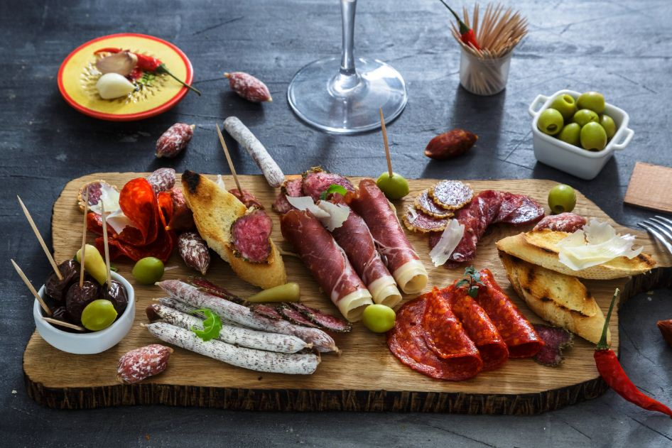 tapas-gastronomia-espanhola-Intercâmbio-em-Madri