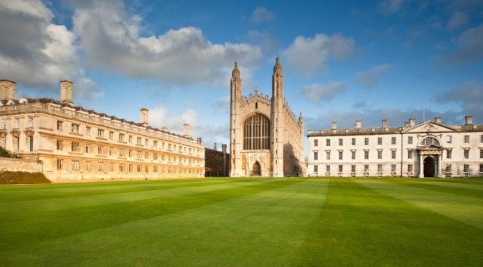 Curso de verão em Cambridge recebe inscrições para bolsa