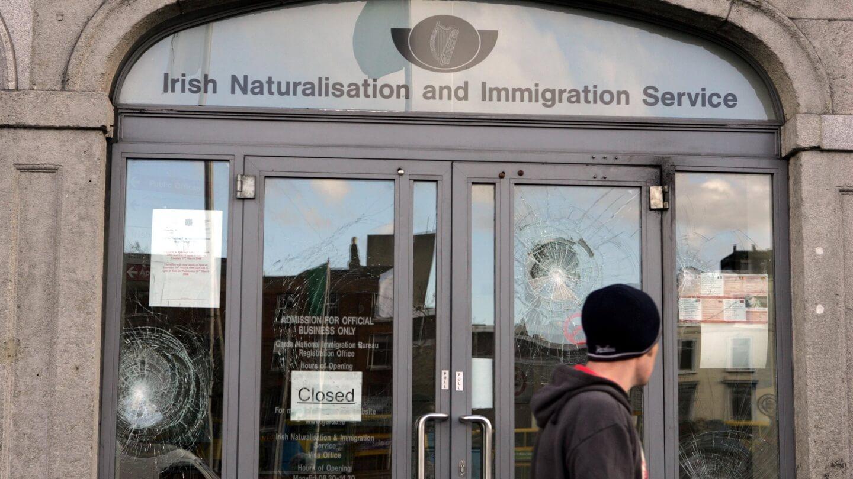 mudança do GNIB para IRP na Irlanda