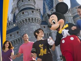 Pacote de viagem para a Disney