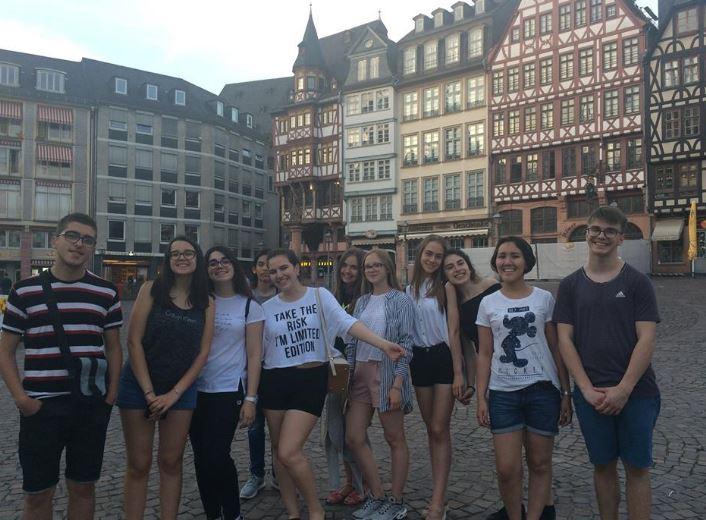 Férias em Frankfurt na Alemanha