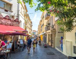 Intercâmbio para a Terceira Idade em Antibes na França