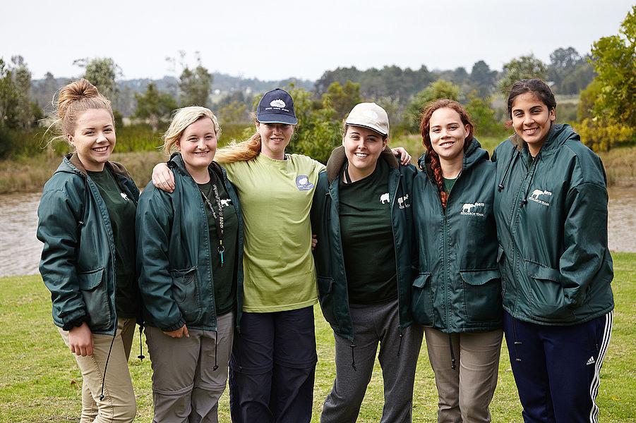 Voluntários Projeto Garden Route Elephant Park