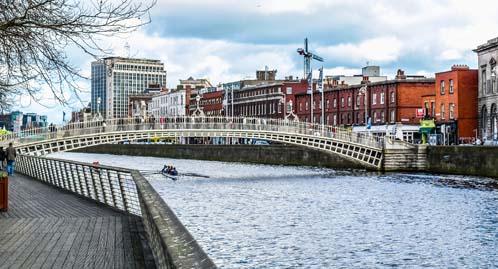 Estudo e trabalho na escola ISI Dublin