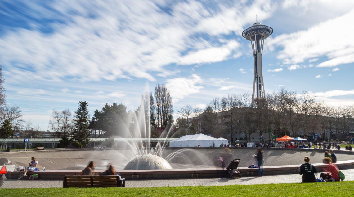 Seattle-Center-International-Fountain-Dia-Mundial-do-Rock